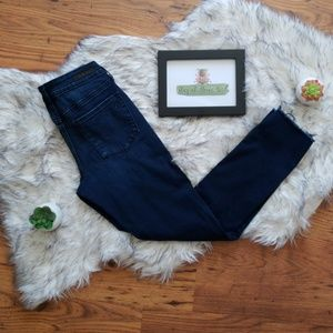 Articles of Society Carly Raw Hem Ankle Jeans